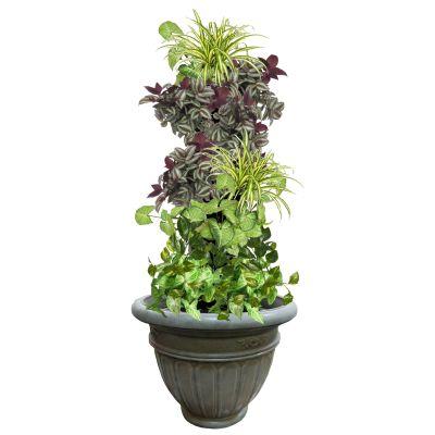 Фитоколонна из живых растений 100см